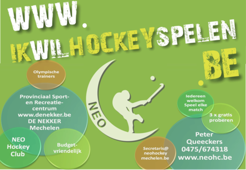 3x gratis hockey training proberen