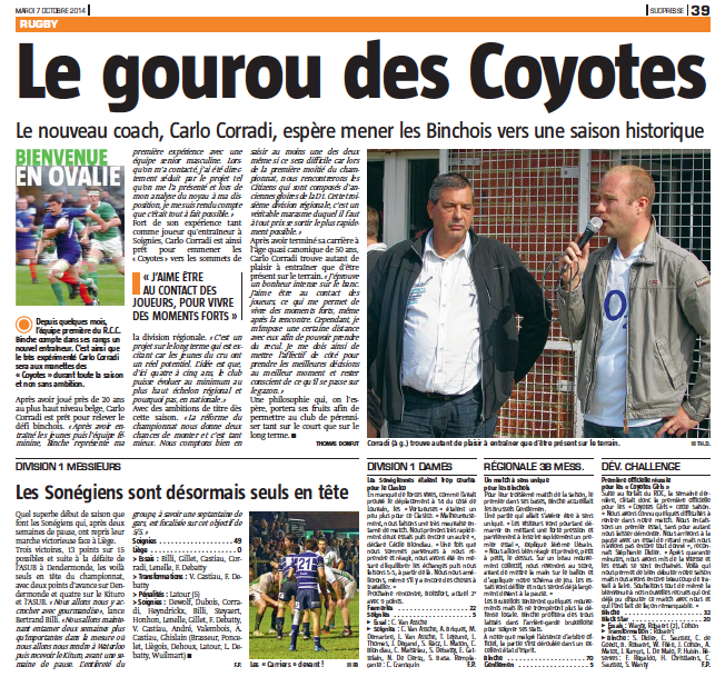 Nouvelle Gazette 22/10/2014