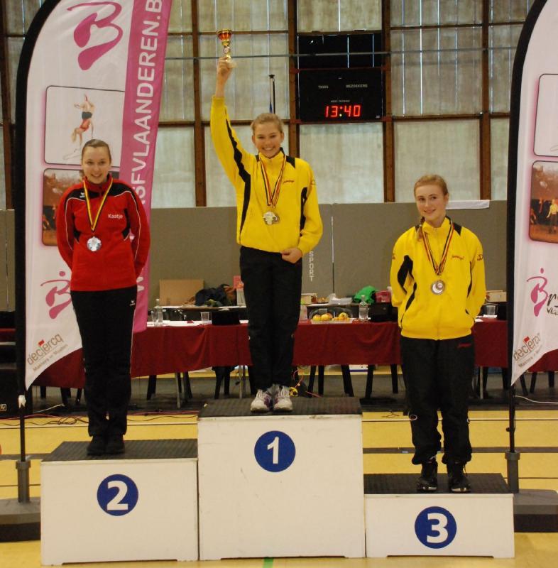 Yara Meersschaert - Belgisch Kampioen Rope Skipping Masters 2012